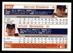 2004 Topps #327  Bernie Castro / Khalil Greene  Back Thumbnail