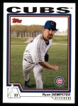 2004 Topps #457  Ryan Dempster  Front Thumbnail