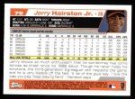 2004 Topps #79  Jerry Hairston Jr.  Back Thumbnail