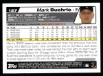 2004 Topps #127  Mark Buehrle  Back Thumbnail