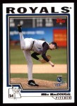 2004 Topps #113  Mike MacDougal  Front Thumbnail