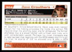 2004 Topps #304   -  Dave Crouthers First Year Back Thumbnail