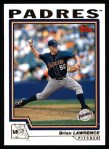 2004 Topps #184  Brian Lawrence  Front Thumbnail