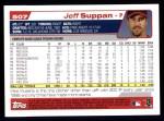 2004 Topps #507  Jeff Suppan  Back Thumbnail