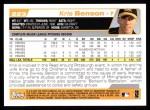 2004 Topps #223  Kris Benson  Back Thumbnail