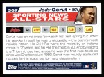 2004 Topps #367   -  Jody Gerut All-Star Back Thumbnail