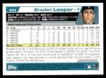 2004 Topps #111  Braden Looper  Back Thumbnail