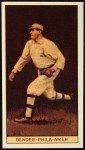 1912 T207 Reprint #10  Chief Bender  Front Thumbnail