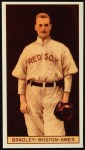 1912 T207 Reprint #18  Hugh Bradley  Front Thumbnail