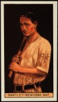 1912 T207 Reprint #74  Grover Hartley  Front Thumbnail