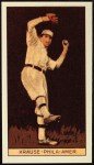 1912 T207 Reprint #92  Harry Krause  Front Thumbnail