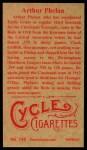1912 T207 Reprint #145  Arthur Phelan  Back Thumbnail
