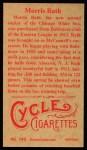 1912 T207 Reprint #149  Morris Rath  Back Thumbnail
