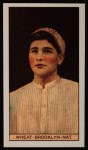 1912 T207 Reprint #187  Zach Wheat  Front Thumbnail