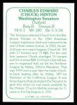1978 TCMA The 60's #252  Chuck Hinton  Back Thumbnail