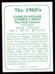1978 TCMA The 60's #289  Charley Smith  Back Thumbnail