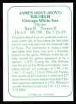 1978 TCMA The 60's #100  Hoyt Wilhelm  Back Thumbnail