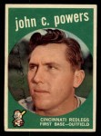 1959 Topps #489  John Powers  Front Thumbnail