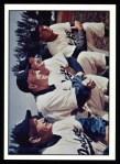 1979 TCMA The 50's #187   -  Walter Alston Dodger Braintrust Front Thumbnail