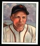 1950 Bowman REPRINT #29  Eddie Stanky  Front Thumbnail