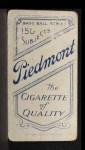 1909 T206 POR Bill Bradley  Back Thumbnail
