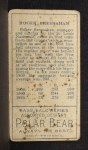 1911 T205 CLS Roger Bresnahan   Back Thumbnail