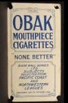 1910 T212 Obak xOLD Conrad Starkell  Back Thumbnail