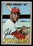 1967 Topps #268  Johnny Briggs  Front Thumbnail