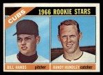 1966 Topps #392   -  Bill Hands / Randy Hundley Cubs Rookies Front Thumbnail