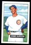 1951 Bowman REPRINT #248  Johnny Klippstein  Front Thumbnail