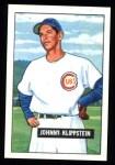 1951 Bowman Reprints #248  Johnny Klippstein  Front Thumbnail