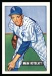 1951 Bowman REPRINT #303  Marv Rotblatt  Front Thumbnail