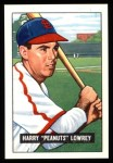 1951 Bowman REPRINT #194  Peanuts Lowrey  Front Thumbnail