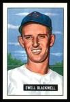 1951 Bowman REPRINT #24  Ewell Blackwell  Front Thumbnail