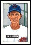 1951 Bowman REPRINT #287  Jim Blackburn  Front Thumbnail