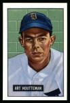 1951 Bowman REPRINT #45  Art Houtteman  Front Thumbnail