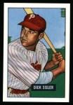 1951 Bowman REPRINT #52  Dick Sisler  Front Thumbnail