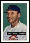 1951 Bowman REPRINT #102  Dutch Leonard  Front Thumbnail