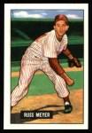 1951 Bowman REPRINT #75  Russ Meyer  Front Thumbnail