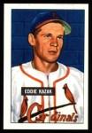 1951 Bowman REPRINT #85  Eddie Kazak  Front Thumbnail