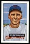1951 Bowman REPRINT #48  Ken Raffensberger  Front Thumbnail