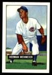 1951 Bowman REPRINT #144  Herm Wehmeier  Front Thumbnail