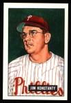 1951 Bowman REPRINT #27  Jim Konstanty  Front Thumbnail
