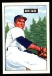 1951 Bowman REPRINT #197  Bob Cain  Front Thumbnail