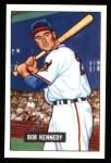 1951 Bowman REPRINT #296  Bob Kennedy  Front Thumbnail