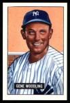 1951 Bowman REPRINT #219  Gene Woodling  Front Thumbnail