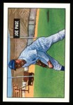 1951 Bowman REPRINT #217  Joe Page  Front Thumbnail