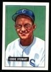 1951 Bowman REPRINT #159  Ed Stewart  Front Thumbnail