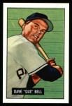 1951 Bowman REPRINT #40  Gus Bell  Front Thumbnail
