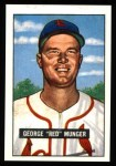 1951 Bowman REPRINT #11  Red Munger  Front Thumbnail